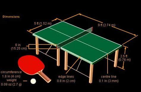 dimension table de tennis de table اخبار الرياضة كرة القدم العالمية والعربية elsport خاص هل هناك من تشابه بين كرة المضرب
