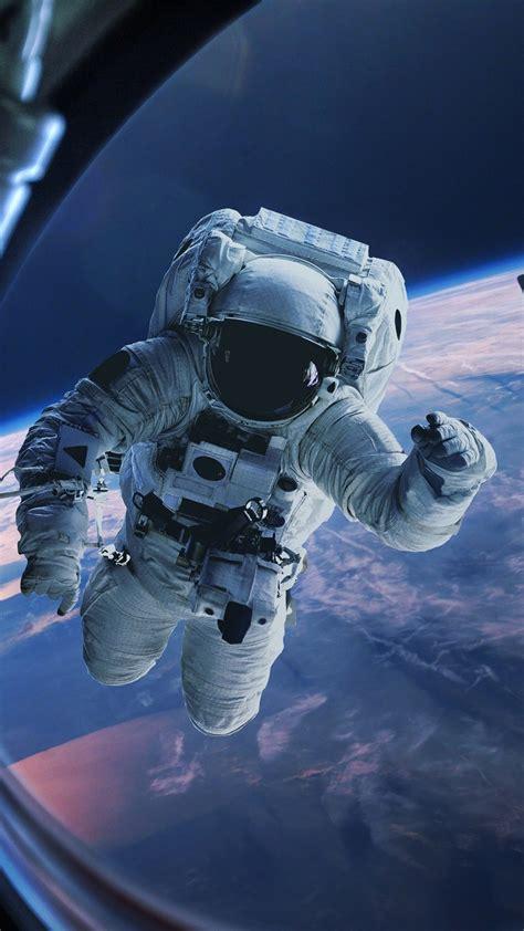 astronaut erde fenster schwerkraft raum  uhd