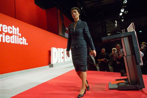She has published various books on economic issues, her latest in 2012. Sahra Wagenknecht - Sahra Wagenknecht Photos - Die Linke ...