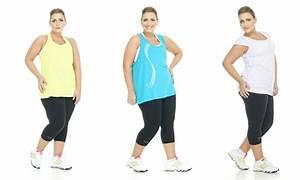 roupa feminina de academia para plus size usar