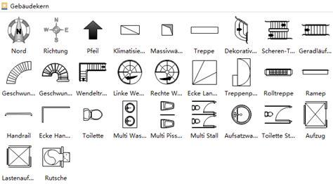 grundriss symbole grundriss zeichnen verwendung der