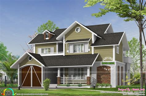 european style house may 2016 kerala home design and floor plans