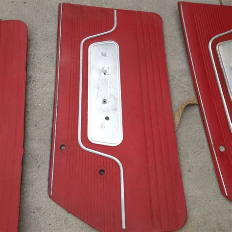 galaxie interior door panels ford muscle forums