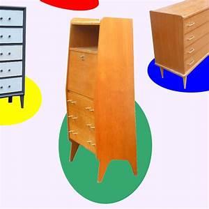 Secretaire commode vintage annees 60 vendu meubles et for Meuble scandinave annee 50 14 secretaire vintage design des annees 50 60 vendu