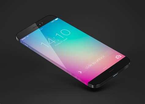 iphone 6 new screen iphone 6 concept steals samsung feature for endless