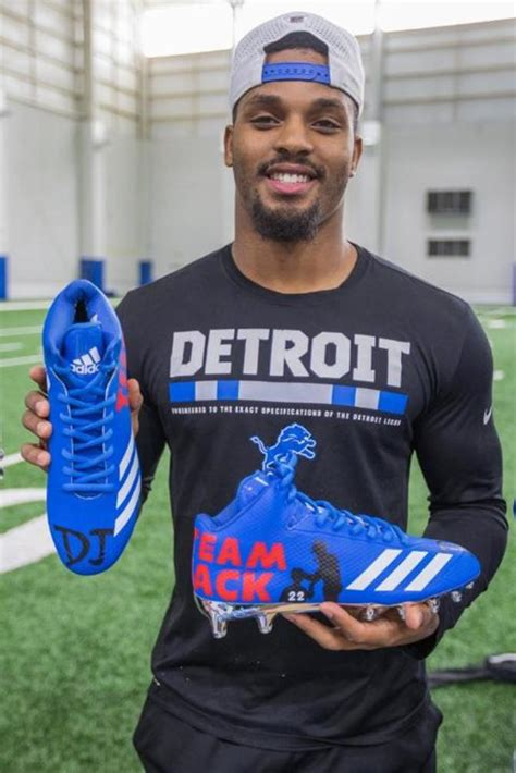 nfl auction    cleats lions ameer abdullah