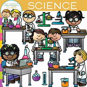 Science Lab Clip Art , Images & Illustrations | Whimsy Clips