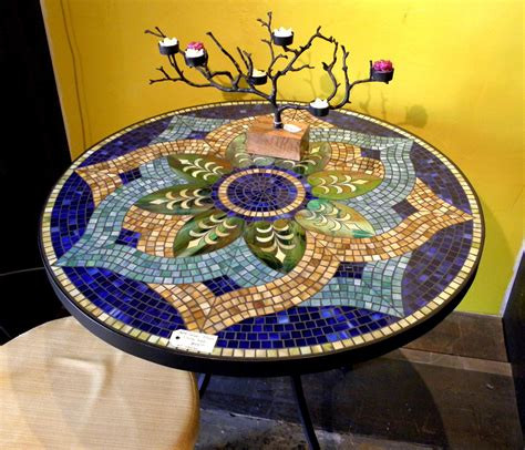 mosaic outdoor dining table my grandma had a beautiful mosaic table she made it 39 s on
