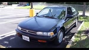 1992 Honda Accord Lx Walk-around  Start-up  U0026 Tour
