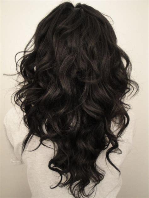 long curly hair  shape hair cut women hairstyles