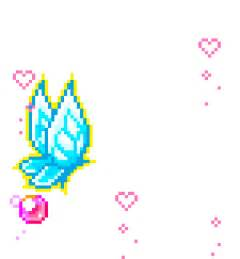 Kawaii Transparent Pixel Art