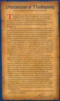 abraham lincoln 39 s thanksgiving proclamation