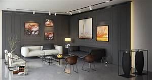 living room wall paneling interior design ideas With wall panelling designs living room