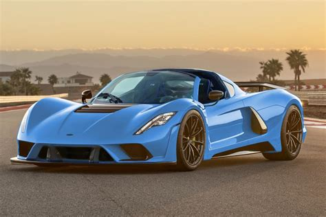 hennessey venom  roadster considered auto express