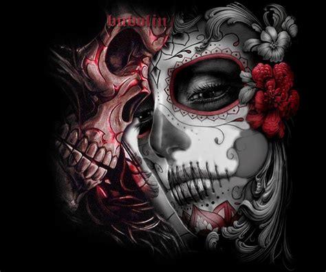 Gothic, Skulls, Death, Fantasy, Erotic And Animals