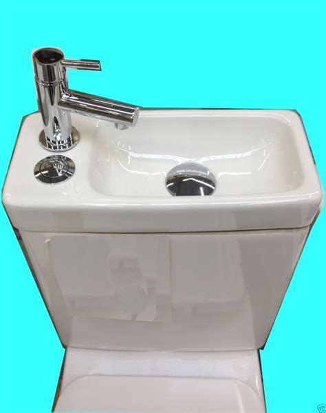 wc mit waschbecken design stand wc komplett set sp 252 lkasten keramik inkl waschbecken g 228 ste wc ebay