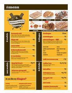 Wafels & Dinges Food Truck Menu