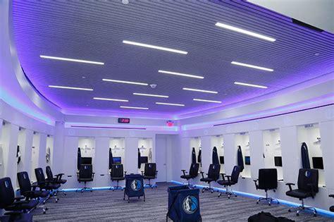 dallas mavericks locker room hunter douglas architectural