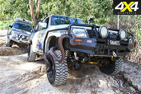 Custom 4x4  Nissan Patrols On Snake Control  4x4 Australia