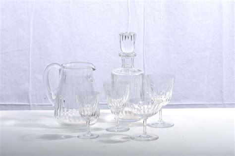bicchieri baccarat catalogo servizio di bicchieri baccarat da 12 in cristallo inciso