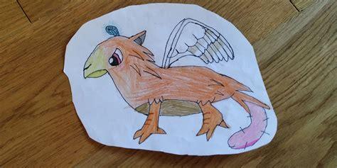 imaginary creature art starts  kids
