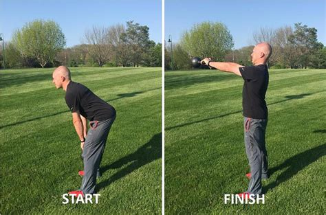 kettlebell golf exercises improve game swing