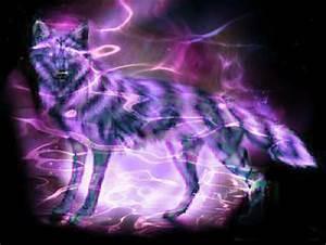 Neon Purple Wolves