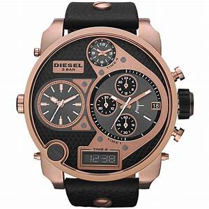 Men's Mr Daddy Rose Gold Tone Watch DZ7261 - Diesel from ...