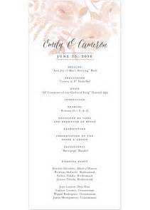 wedding program wording sles standard wedding invitations wedding invitation ideas