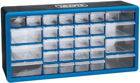 casier de rangement draper 30 tiroirs plastique atelier stand sur la b 233 canerie