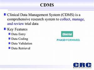 it in clinical research With cdms document management system