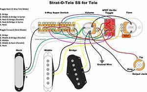 Strat 0 Tele Wiring Diagram