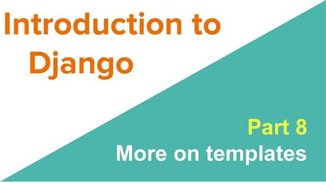 Django Template Tags Default by Introduction To Django More Template Tags Youtube