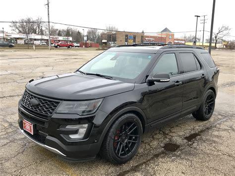 Ford Explorer // Velgen Wheels Vmb6 Satin Black