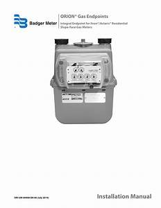 Badger Meter Orion Amr  Ami Hardware Solutions For Gas