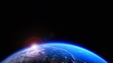 bleu planete terre soleil univers hd apercu wallpapercom