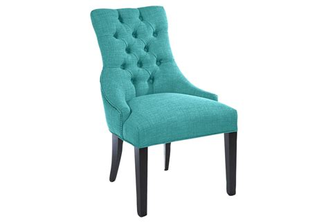 tufted chair teal accent from one