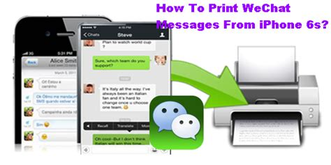 how to print from iphone how to print wechat messages from iphone 6s