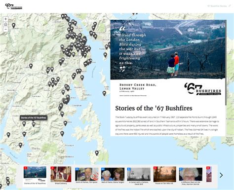 bushfires storymap tfs brn