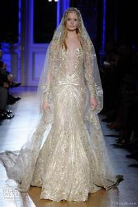 zuhair murad spring summer 2012 couture wedding sleeve With zuhair murad wedding dress