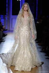 zuhair murad spring summer 2012 couture wedding sleeve With zuhair murad wedding gowns