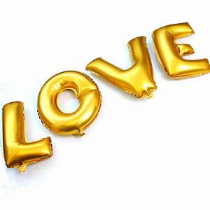 2015 valentine39s day foil balloons wedding decoration With inflatable letter balloons