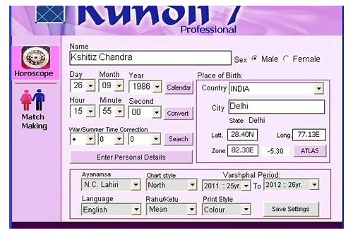 kundli software free download full version in hindi