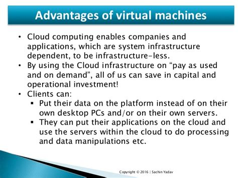 vmware cloud computing resume cloud computing presentation ppt by sachin yadav software engineer