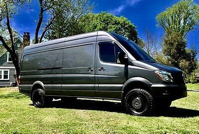 """Discover how the efficient sprinter passenger van can save you money in the long run with our total cost of. 2016 Mercedes-benz 4x4 Sprinter 3500 Cargo/crew Van 170"""" Hi Roof Dually"""