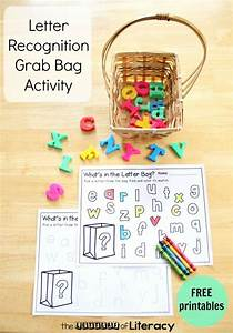 letter recognition grab bag with free alphabet printable With letter recognition games free
