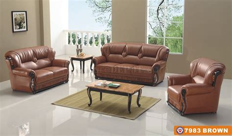 7983 sofa in brown bonded leather by american eagle furniture