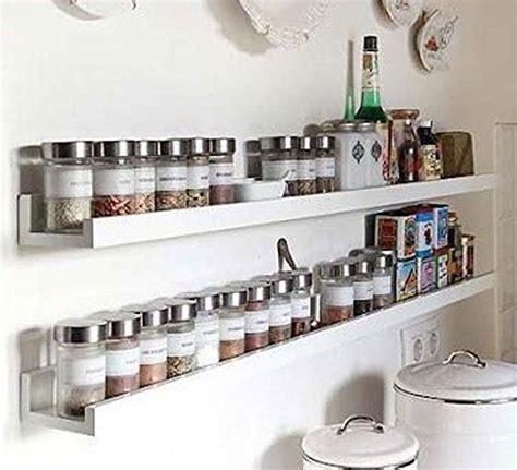 wall mount spice rack floating shelf wood white   long wall mounted spice rack wall