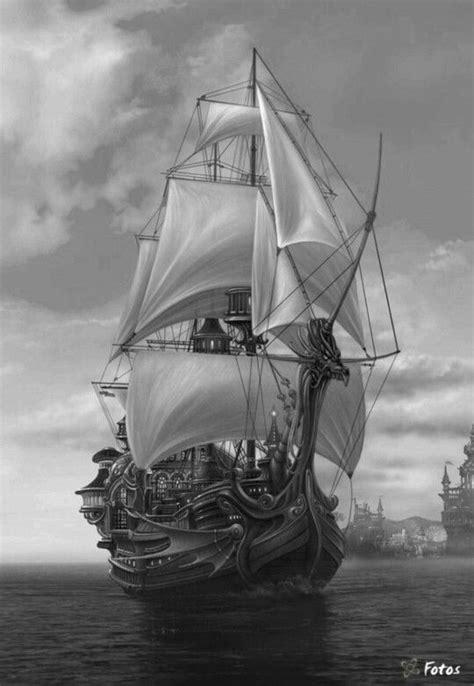 Pin by Ellen Garrard on Coloring sheets | Ship paintings, Pirate ship drawing, Ship drawing