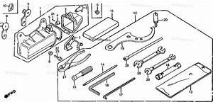 Honda Atv 1985 Oem Parts Diagram For Tools